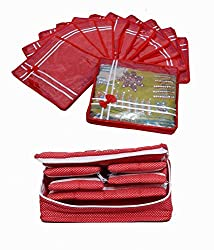 Saree Cover 12 Pcs Set & Jewellery Kit, Wedding Gift
