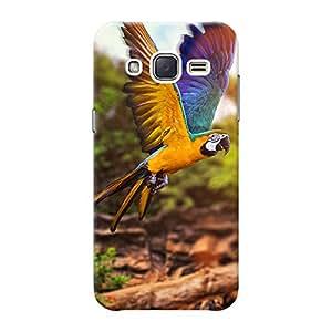 Mobile Back Cover For Samsung Galaxy J2 (Printed Designer Case)
