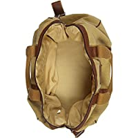 Canyon Outback Urban Edge Mason 21 Inch Canvas and Leather Duffel Bag from Canyon Outback