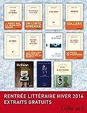 Extraits gratuits - Rentr�e litt�raire Gallimard Hiver 2014