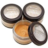 Rimmel Lasting Finish Minerals Foundation Powder Re-fill Pots Choose Shade (Amber 401)