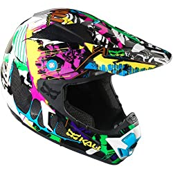 Kali Grafitti Adult Prana Carbon Dirt Bike Motorcycle Helmet - Wild
