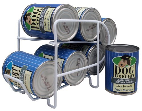 IRIS Wire 6 Can Dispenser for Canned Dog Food Storage