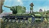 1/76 ロシア 重戦車カーベII 後期型
