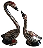 Decorative brass Duck Set of 2 Showpieces Handcrafted