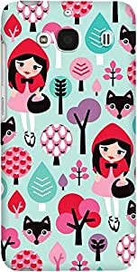 DailyObjects Red Riding Hood Case For Xiaomi Redmi 2