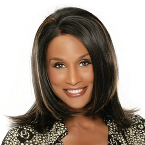 Beverly Johnson Lace Front Wig - Pearl - Color#4/30 - Light Brown/Medium Brown Red