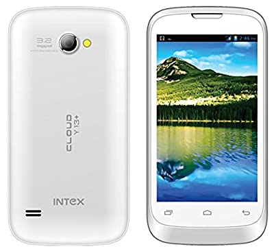 Intex Cloud Y13+ Smart Phone 1.2 GHz Dual core, Free Flip cover - Black