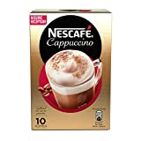 Nescafe | Instant Coffee | Cappuccino | 10 Sticks Per Pack 125gr/4.41oz