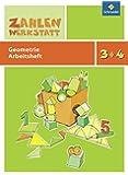 Zahlenwerkstatt: Geometrie: Arbeitsheft 3 / 4