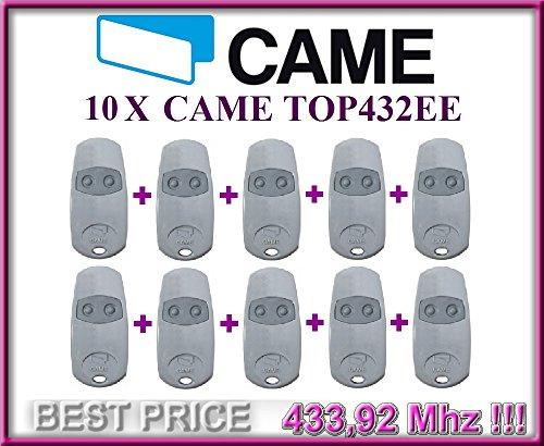 10-x-came-top432ee-2-canali-fernbedienung-sender-43392-mhz-10-stuck-hochwertige-original-came-fernbe