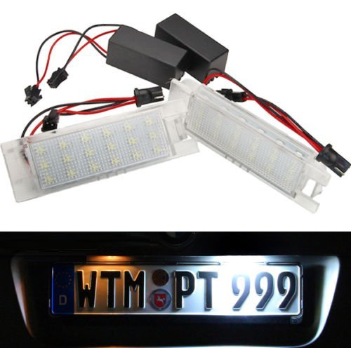 LED-Kennzeichenbeleuchtung-Opel-Tigra-TwinTop-Zafira-B-Vectra-C-Meriva-Opel-Astra-H-J-OPC-Corsa-C-D-Insignia-71001