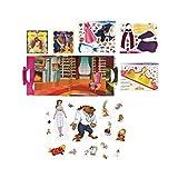 Koehler Home Decorative Disney My First Belle Paper Dolls Fairy Tales Cartoon Cutout Figurines Play Set