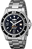 Breitling Men's A1739102/BA80 Superocean 44 Black Dial Watch