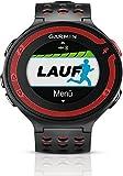 Garmin Forerunner 220 - Montre de running avec GPS intégré - Noir/Rouge