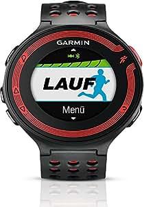 Garmin Forerunner 220 GPS-Laufuhr Black/red mit Lauf- und Trainingsfunktionen