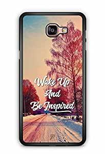 YuBingo Wake Up and Be Inspired Designer Mobile Case Back Cover for Samsung Galaxy A9