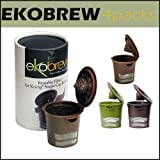 Ekobrew 4 Packs Refillable K Cup