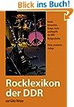 Rocklexikon der DDR: Bands,  Interpre...