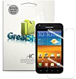GreatShield Ultra Clear Screen Protector Film for Sprint Samsung Galaxy S ll S2, Epic 4G Touch (3 Pack) Clear (HD)