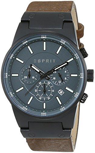 Esprit-Herren-Armbanduhr-XL-Equalizer-Outdoor-Chronograph-Quarz-Leder-ES107961003