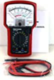 Tekpower TP7050 7-Function 20-Range Analog Multimeter With Battery Tester and Strongly Built Case and Holster