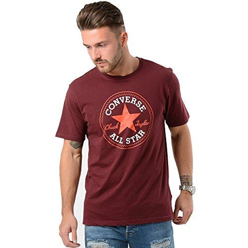 Converse -  T-shirt - Maniche corte - Uomo viola Medium