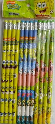 Spongebob Squarepants Pencils 12ct