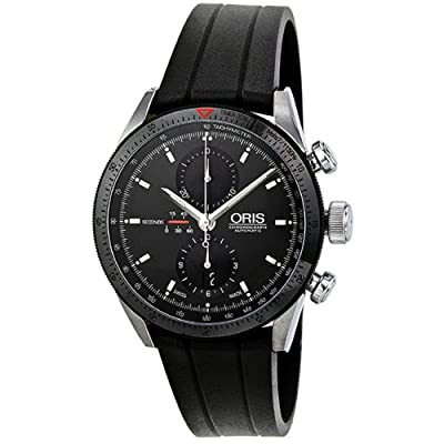 Oris Artix GT Chronograph Automatic Black Dial Stainless Steel Mens Watch 674-7661-4434RS