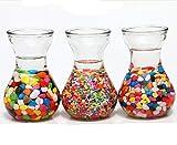 Polished Mixed Color Aquarium Decorative Gravel Vases Pebble, 2 pounds