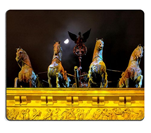msd-natural-rubber-gaming-mousepad-image-id-354522-chariot-on-top-of-brandenburg-gate-with-moon-and-