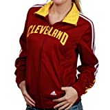 Cleveland Cavaliers NBA Womens On Curt Track Jacket, Wine Red (Medium) Amazon.com