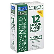 Smart Mouth Advanced Clinical Formula Mouthwash, Activated, Fresh Mint, 1 system 16 fl oz (480 ml)