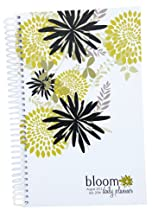 2013-2014 bloom Academic Year Daily Day Planner Fashion Organizer Agenda August 2013 Through July 2014 Bloom Flowers