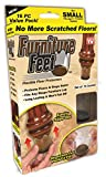 ONTEL PRODUCTS FFS-MC12/4 Furniture Feet, Small
