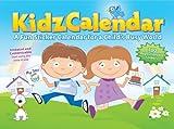 KidzCalendar: A Fun Sticker Calendar for a Childs Busy World (Undated)