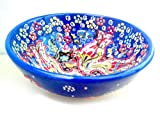 Turkceramics Relief Bowl (10cm, Blue)
