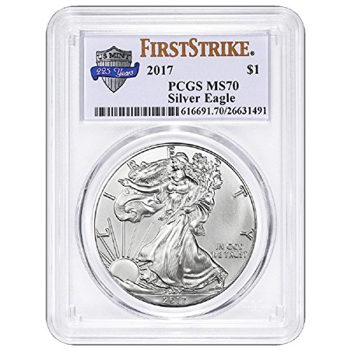 2017 Silver Eagle Anniversary Label