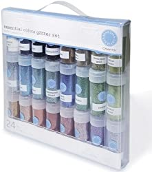 Ek Success M111102 Martha Stewart Glitter Multi Pack 24/Pkg
