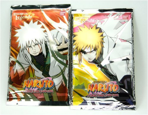 Naruto Cards - LINEAGE OF THE LEGENDS - Booster Packs (2 Pack Lot) - 1