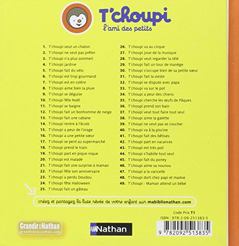 Libro t 39 choupi aime la galette di thierry courtin - T choupi aime la galette ...