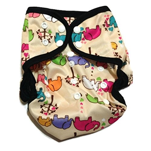 One Size Fit Most - Diaper Covers For Prefolds/Regular Inserts Pul - Elephants