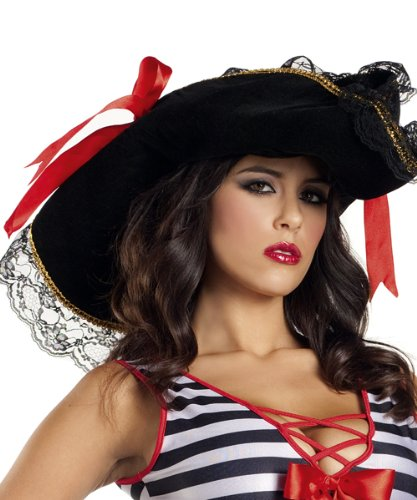 Be Wicked Costumes Women's Pirate Hat Costume Accessory