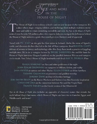 Nyx in the House of Night: Mythology, Folklore and Religion in the PC and Kristin Cast Vampyre Series 51crRRE6qPL