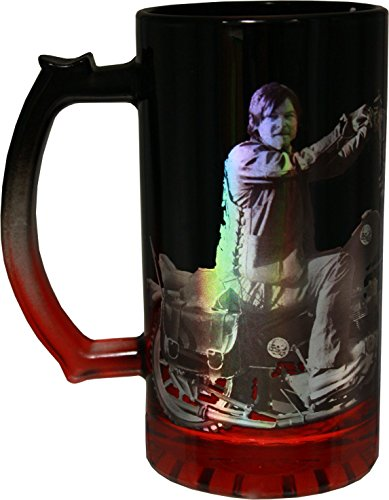 The Walking Dead Daryl Dixon Foil Beer Stein Mug