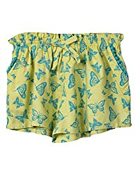 Beebay Butterfly Print Skorts (G1415114603612_Yellow_6Y)