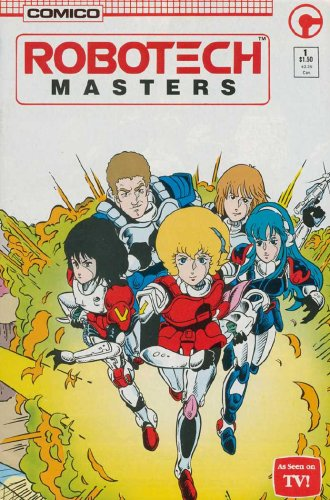 "ROBOTECH COMICO SERIES, All 3 Series, 25-Diiferent, ""Macross Saga"" ""Masters"" ""New Generation"", Instant Gift - Instant Collection"