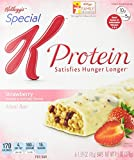Special K Protein Meal Bar, Strawberry, 6-Count 1.59 oz. Bars (Pack of 3)
