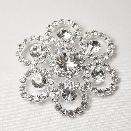 Regina Stunning Diamante Brooch