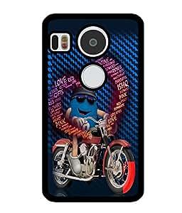 Fuson 2D Printed Love Designer back case cover for LG Google Nexus 5X - D4193